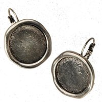 Dangle Earrings Woman Jewelry DIY 18mm Round Cameo Cabochon ...