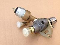 Elektrikli yakıt enjeksiyon pompası w / KAMA KIPOR için selenoid daha 186F 186FA 9HP 10HP Dizel manyetik vana enjektör yeke jeneratör parçaları