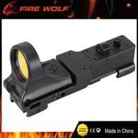 FIRE WOLF 새로운 전략 적색 도트 스코프 EX 182 엘레멘트 더 자세히보기 Red Dot Sight 6 색 광학