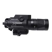 جديد SF X400V-IR المصباح التكتيكي LED بندقية ضوء الضوء الأبيض وإخراج الأشعة تحت الحمراء مع الليزر الأحمر الأسود