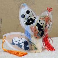 Panda, vena, segnalibro, vento cinese, Sichuan, Chengdu turismo, souvenir, regalo speciale dall'estero, cancelleria creativa per gli studenti