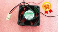 SUNON 4020 DC12V 0.6W 40 * 40 * 20MM KDE1204PKV2 2 líneas de levitación magnética 4CM ventilador de refrigeración silencioso