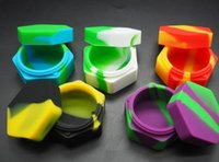 Stock in USA! 10pcs lot silicone containers for dabs wax sil...