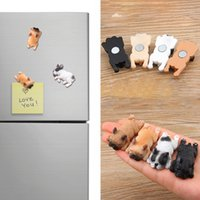 Cute Small French Bulldogs Magnets Sleeping Series Chai Dog ...