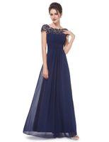 2017 халат де soriee новый высокое качество совок Cap рукава длинные шифоновые платья выпускного вечера вечерние платья Vestido де феста вечернее платье
