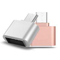 미니 마이크로 USB to USB OTG 어댑터 카메라 SAMSUNG XIAOMI HTC SONY LG Android 마이크로 USB OTG 용 OTG 케이블