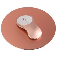 Unique aluminum alloy mouse Q8 with Elegant metal mouse pad ...