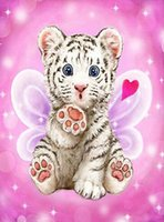Tiger, Diamond Painting, Needlework, Embroidery, Cross Stitch, 5D...