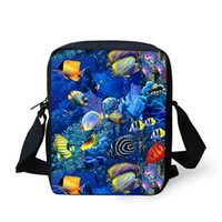 Exotic Theme Messenger Bags for children 2017 Customized Mad...