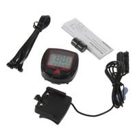 Varış Kilometre Sayacı Bisiklet Ölçer Kilometre Dijital LCD Bisiklet Bilgisayar Saati Kronometre