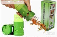 Vegetabilisk fruktbehandling Twister Cutter Slicer Device Kitchen Utensil Verktyg Gratis frakt