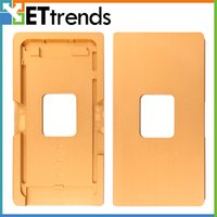 Haute qualité Cadre avec lentille en verre Moule pour iphone 7 pièces plus remplacement de réparation Livraison gratuite par DHL AB0292