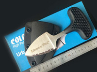 Empurre Mini Cold Steel fixo lâmina de faca urbanas Pal perfuração facas multifunções ourdoor Caminhadas Camping ferramenta de mão transporte livre sobrevivência