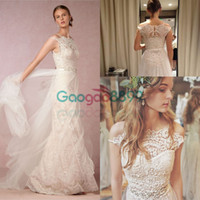 Lorelei Gown Vintage Lace Tulle Boho Country A- line Wedding ...