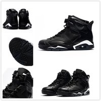 classic 6 6s black cat infrared low chrome basketball shoes ...