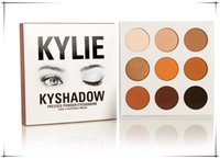 Newest Kylie Kyshadow pressed power 9 Colors Professional Ey...
