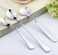 New arrival stainless steel bent spoon Coffee dessert spoon ...