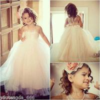 Формальное шнурка младенца Princess Подружки девушки цветка платья Свадебные платья партии