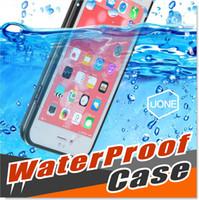 아이폰 6 6s 플러스 방수 케이스의 경우 방수 케이스 커버 360 모든 라운드 보호 풀 실드 먼지 및 눈 증거 케이스