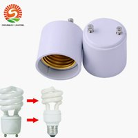 Auf Lager!! GU24 bis E26 GU24 bis E27-Lampenhalter-Wandler-Basis-Birnen-Buchse-Adapter-FIREPROOF-Material-LED-Lichtadapter-Konverter