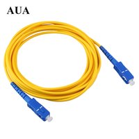 Puente de fibra óptica monomodo puente de fibra óptica monomodo 3 m Transceptor coleta SC Cable de extensión FC a SC