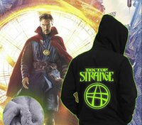 Mens Casual Movie Doctor Strange Hoodie Eye of Agamotto Logo...