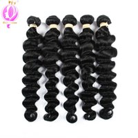 Top quality Peruvian Virgin Loose Wave Hair Natural Color 10...