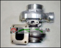 شاحن توربيني Turboocharger T76 T4 مبرد بالزيت: A / R 0.81 Comp: A / R 0.80 1000HP شاحن Turbo T4 شفة