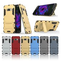 Hard Hybrid Rugged Armor Standing Cases Soft TPU Back cover ...