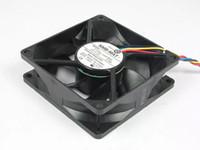 NMB 3110KL-04W-B56 F03 Için ücretsiz Nakliye DC 12 V 0.3A 4-wire 5-pin bağlayıcı 80mm 80X80X25mm Sunucu Kare Soğutma fanı