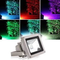 Waterproof Floodlight Landscape Lamp RGB LED Flood Light AC8...