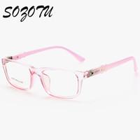 53c3859468 Al por mayor- Marco para gafas de los niños Miopía Anteojos Ópticos  Prescripción Niños Gafas