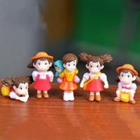 Karikatür Hayao Miyazaki Filmi Minyatürleri PVC Sevimli Anime Heykelcik DIY Peri Bahçe Teraryum Mikro Peyzaj Dekorasyon Çocuklar Noel Hediyesi