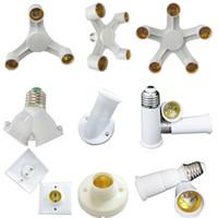 E27 держатели лампы розетки для настольных ламп с зажимом и 6ft 180 см США штекер с ВКЛ / ВЫКЛ led настольные лампы базовый держатель