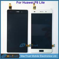 """Лучшие качества 5,0"""" для Huawei Ascend P8 Lite ЖК-дисплей + сенсорный экран Digitizer Ассамблеи Модуль Черный Белый цвет золота"""