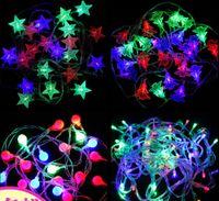 LED Plastik ışıkları yanıp sönen ışık kar küresi lamba dize Noel yıldızı Kar Tanesi Noel ışıkları romantik açık Süslemeleri