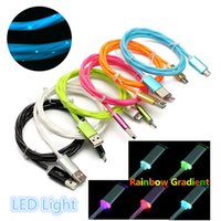 1M NEW 2A FAST Charge Color LED LED Micro USB Data Sync Char...