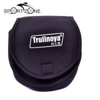 Trulinoya Angelrolle Taschen Schutzhülle Spinnrolle Schutzhülle Outdoor Angeln Wheel Bag