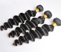 Индийские девственницы человеческие волосы свободные глубокие волны необработанные ременные волосы Weaves двойные WEFTS 100G / Bundle 2Bundle / Lot можно окрашено отбеленным