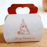 Free shipping bakery package Christmas snowflake tree decora...