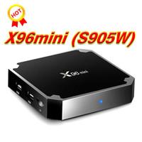 الأصلي X96 MINI أندرويد 7.1 تلفزيون صندوق Amlogic S905W Krypton 1GB 8GB 2GB 16GB Better T95X TX3 TX5 MXQ PRO
