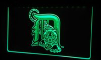 LS158- g- Detroit- Tigers- Baseball- Bar- Neon- Light- Sign Decor Fr...