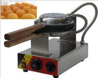 Ücretsiz Kargo elektrikli Hong kong yumurta kek fırın, yumurta kek waffle makinesi, QQ kek fırın makinesi LLFA