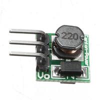 Freeshipping DC 0.8-3.3V a DC 3.3V StepUP Boost Power Mini módulo para Arduino Breadboard 1 x 1 x 0.7 cm Voltaje de entrada de la placa 0.8-3.3V