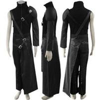 Final Fantasy VII облако косплей костюм Zaxs включает в себя 5 аксессуаров
