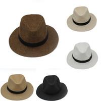 5 Cores Das Mulheres Dos Homens de Aba Larga Chapéus de Moda Chapéu de Rua  Fedora c1f6c1b7bc