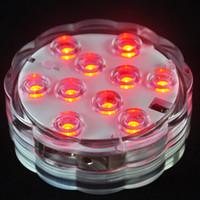 Groothandel afstandsbediening led waterdichte elektronische kaars lichten led aquarium duiklichten creatief led aquarium licht