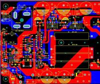Schéma du régulateur de tension et PCB dc-dc KIT DIY Sortie 12-14V 10A Régulateur de tension de ligneLM723 TIP142 LM7812 Entrée AC 18V 15A