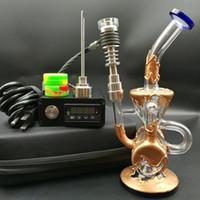 Heady D elektrische Nail-Kit E digitale Nägel Heizung Spule PID-Box mit Verkupferung Wasserrohr Ölplattform Dab Rigs DHL frei