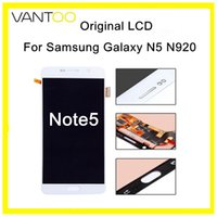 Per Samsung Galaxy Note5 N920 LCD originale Touch Screen Digitizer Assembly AMOLED parti del telefono cellulare di ricambio